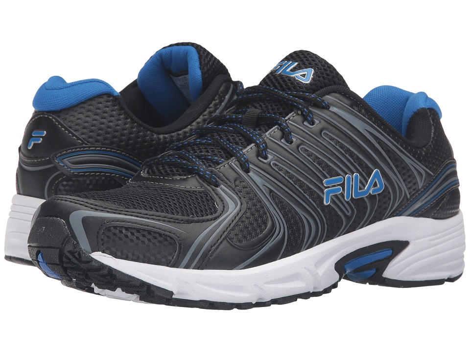 Fila - Varigate (Black/Dark Silver/Prince Blue) Men