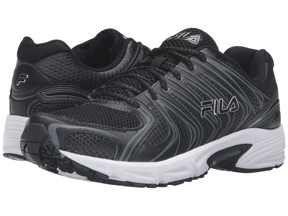 Fila - Varigate (Black/Black/Metallic Silver) Men