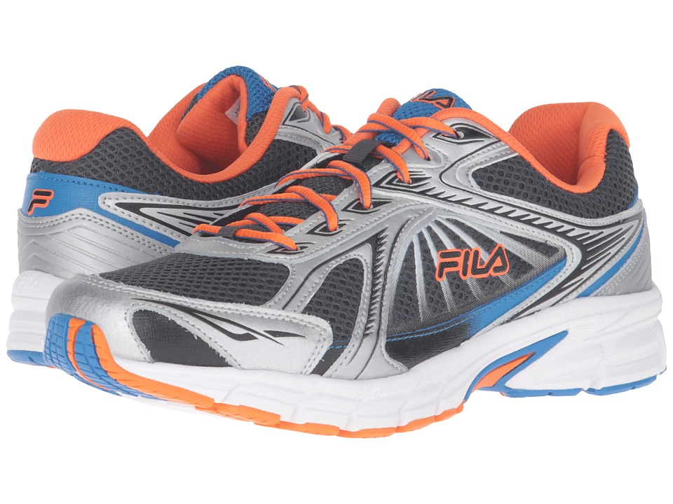 Fila Omnispeed (Dark Shadow/Vibrant Orange/Electric Blue) Men