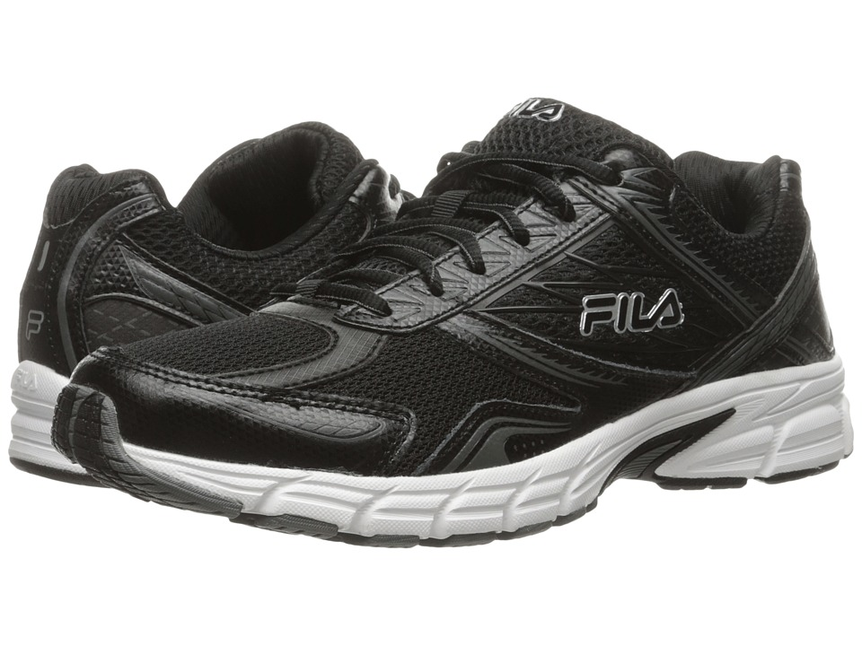 Fila Royalty 2 (Black/Black/Metallic Silver) Men