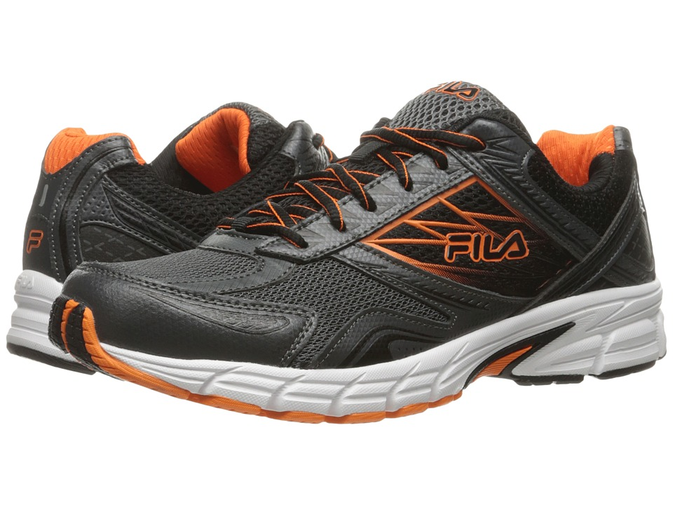 Fila - Royalty 2 (Dark Shadow/Vibrant Orange/Black) Men's Shoes
