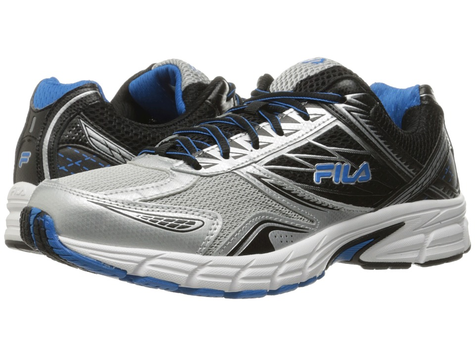 Fila Royalty 2 (Metallic Silver/Black/Electic Blue) Men