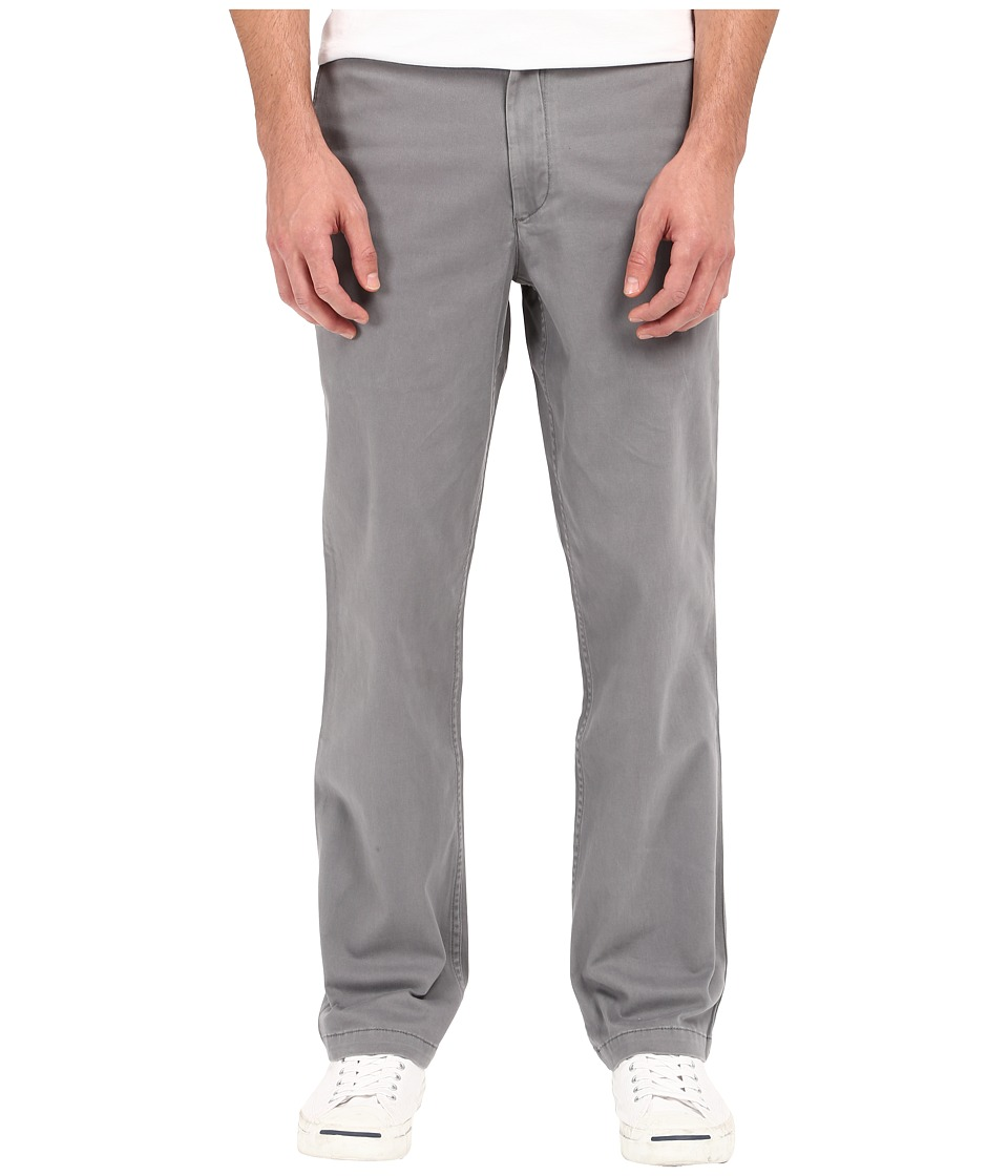Dockers Men's - Washed Khaki Straight (Burma Grey) Men's Casual Pants