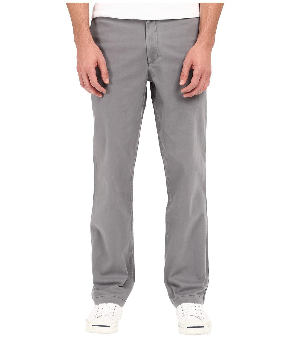 Dockers - Washed Khaki Straight (Burma Grey) Men's Casual Pants