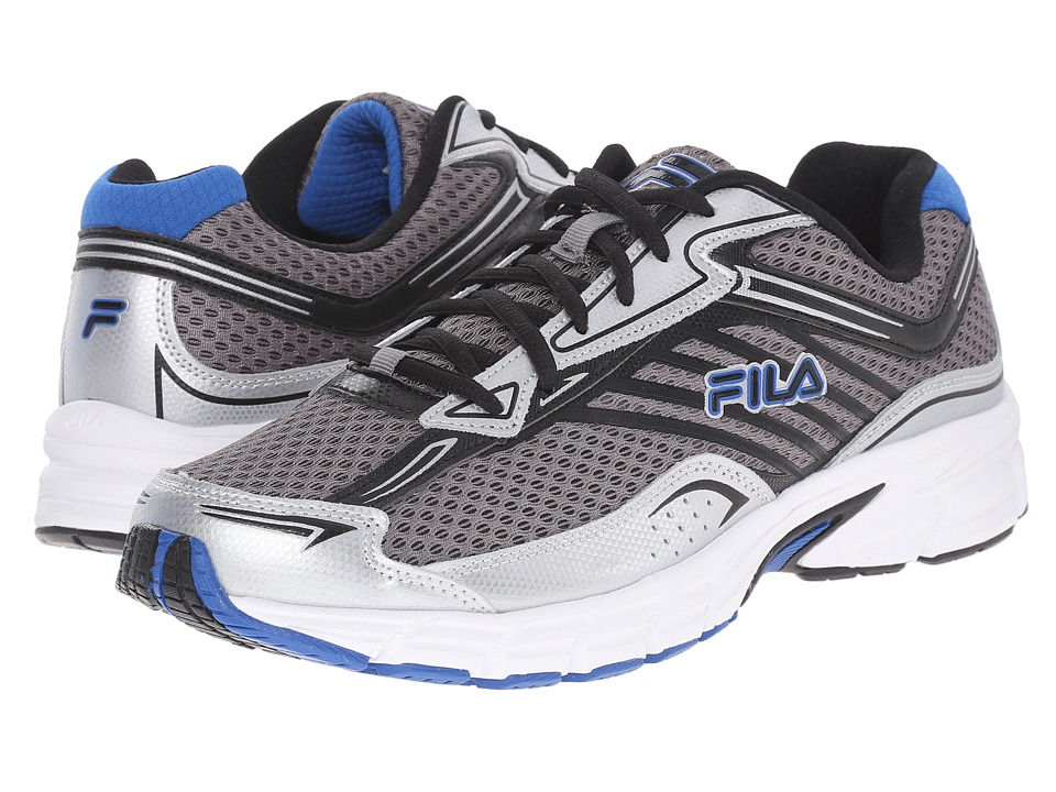 Fila - Xtenuate (Dark Silver/Metallic Silver/Prince Blue) Men's Shoes
