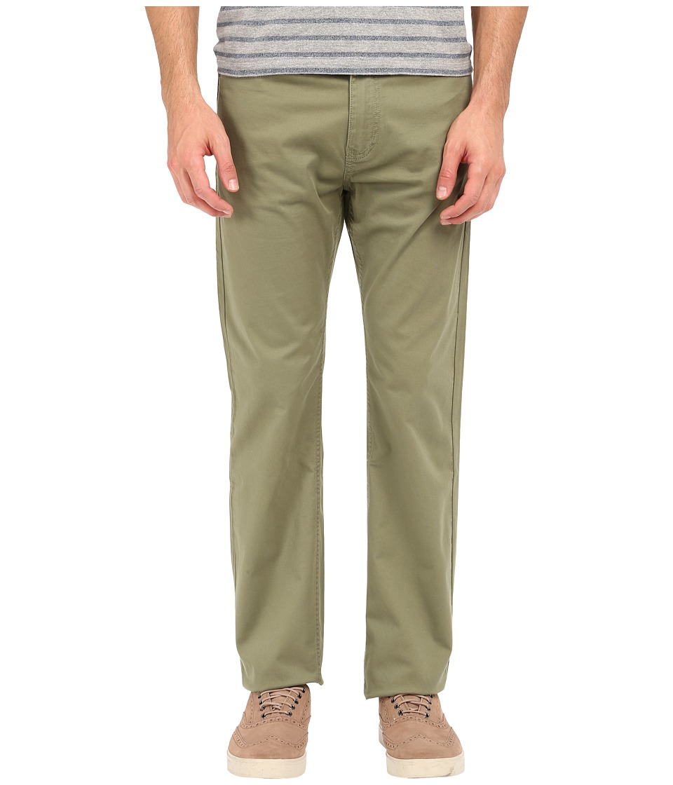 Dockers Men's - Corduroy Five-Pocket Straight (Coastal Sage) Men's Casual Pants