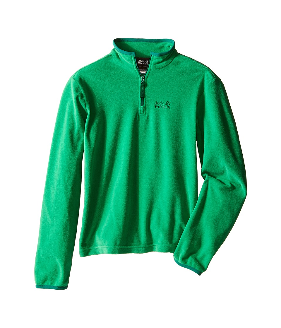 Jack Wolfskin Kids - Gecko Nanuk 1/2 Zip (Little Kid/Big Kid) (Seagrass) Boy's Clothing
