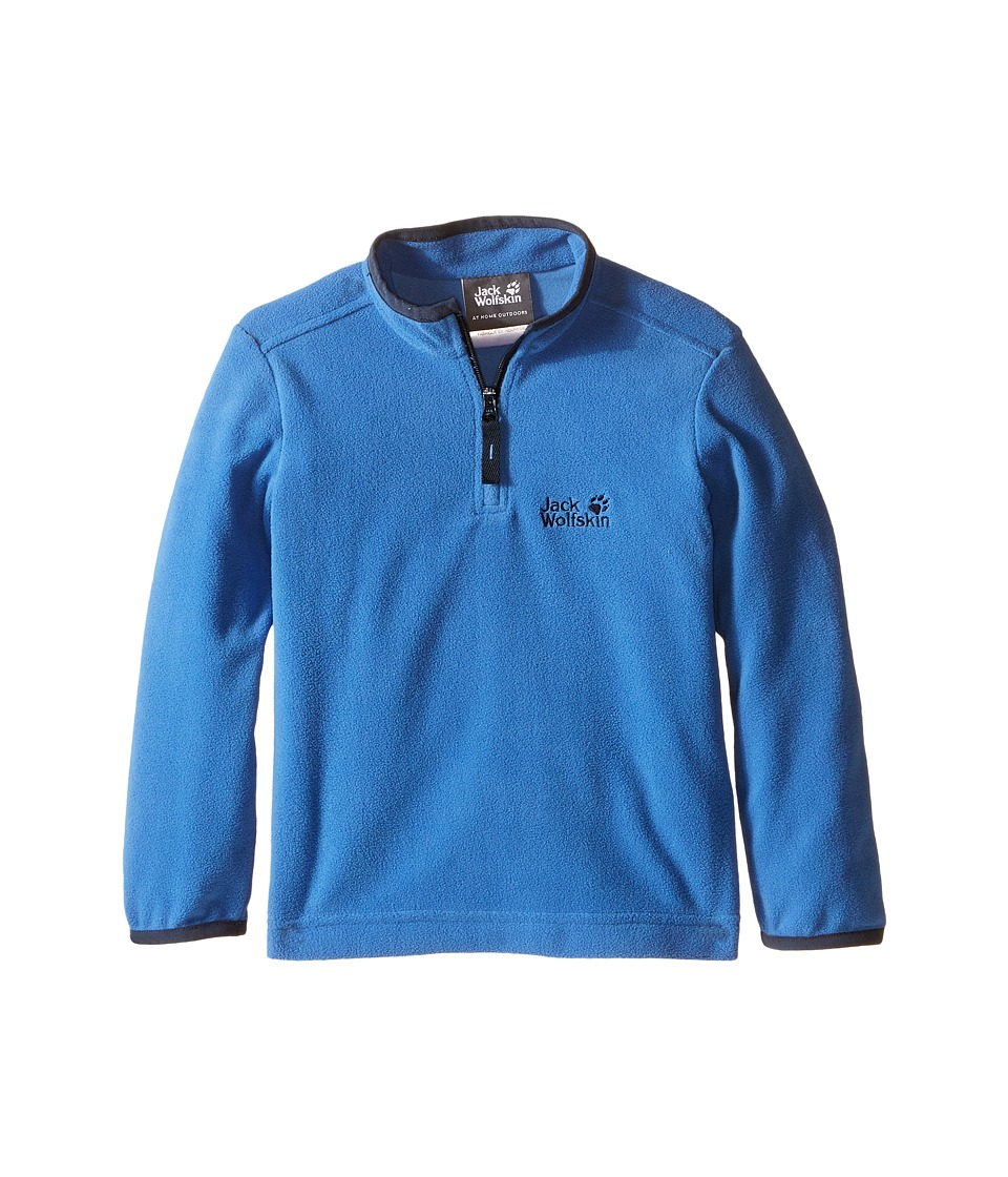 Jack Wolfskin Kids - Gecko Nanuk 1/2 Zip (Infant/Toddler) (Peacock Blue) Boy's Clothing