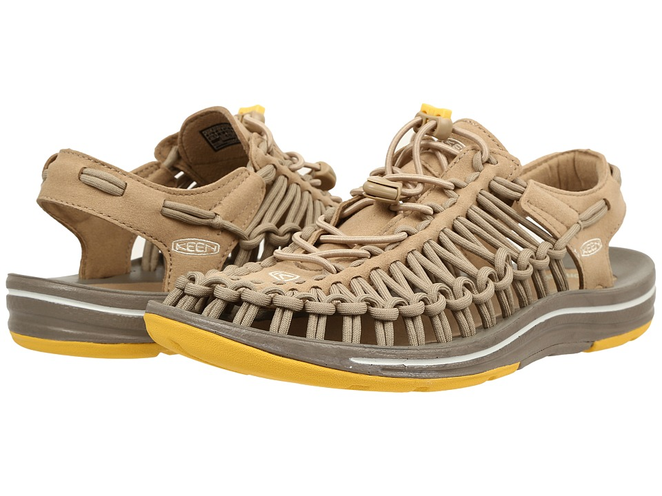 Keen - Uneek (Cornstalk/Mimosa) Women's Toe Open Shoes