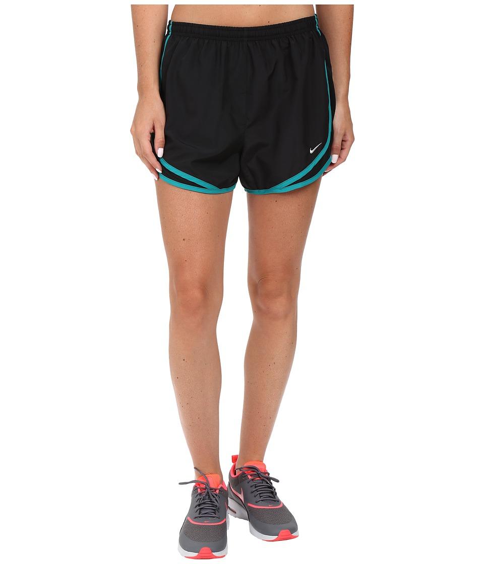Nike Tempo Short (Black/Black/Rio Teal/Wolf Grey) Women