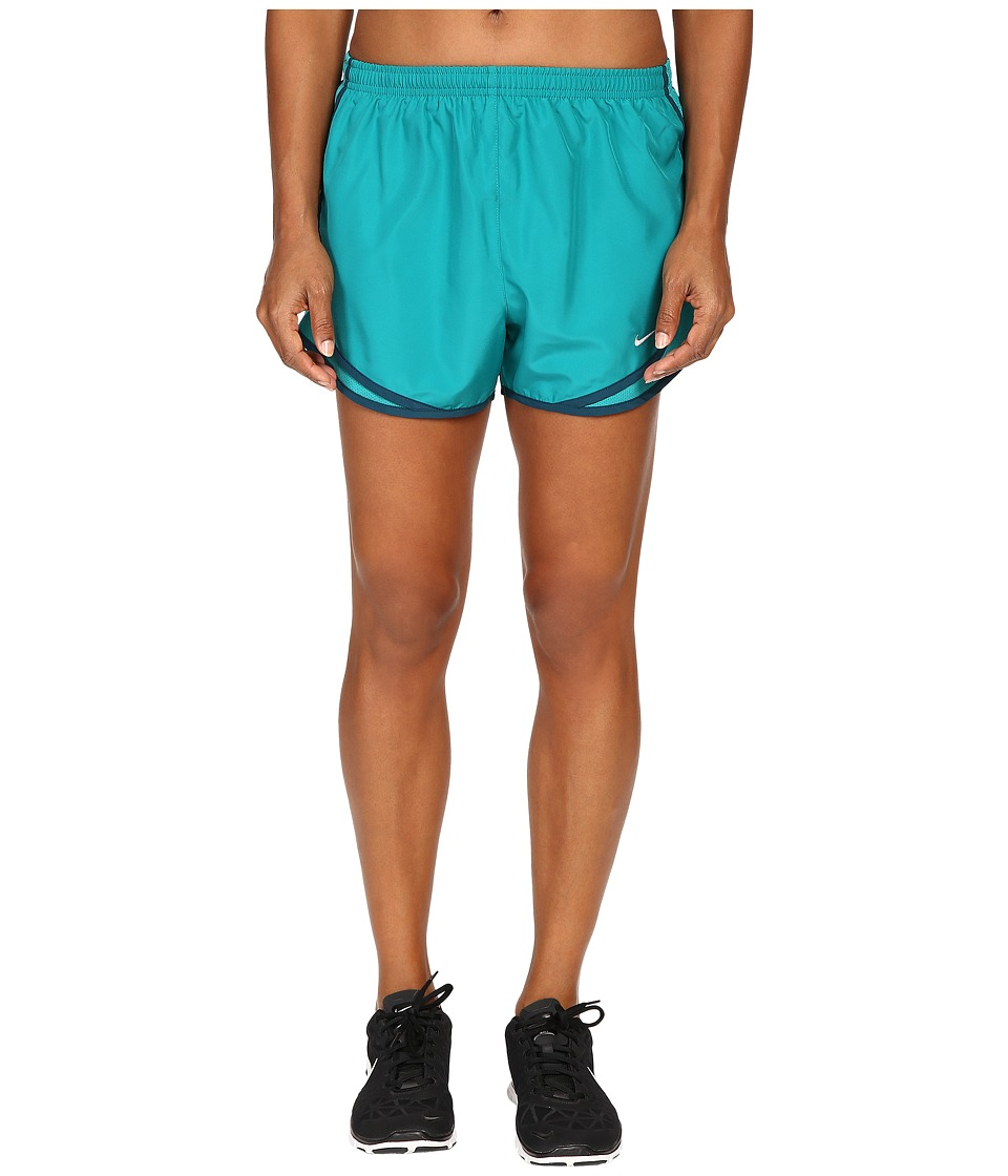Nike - Tempo Short (Rio Teal/Rio Teal/Wolf Grey) Women's Workout