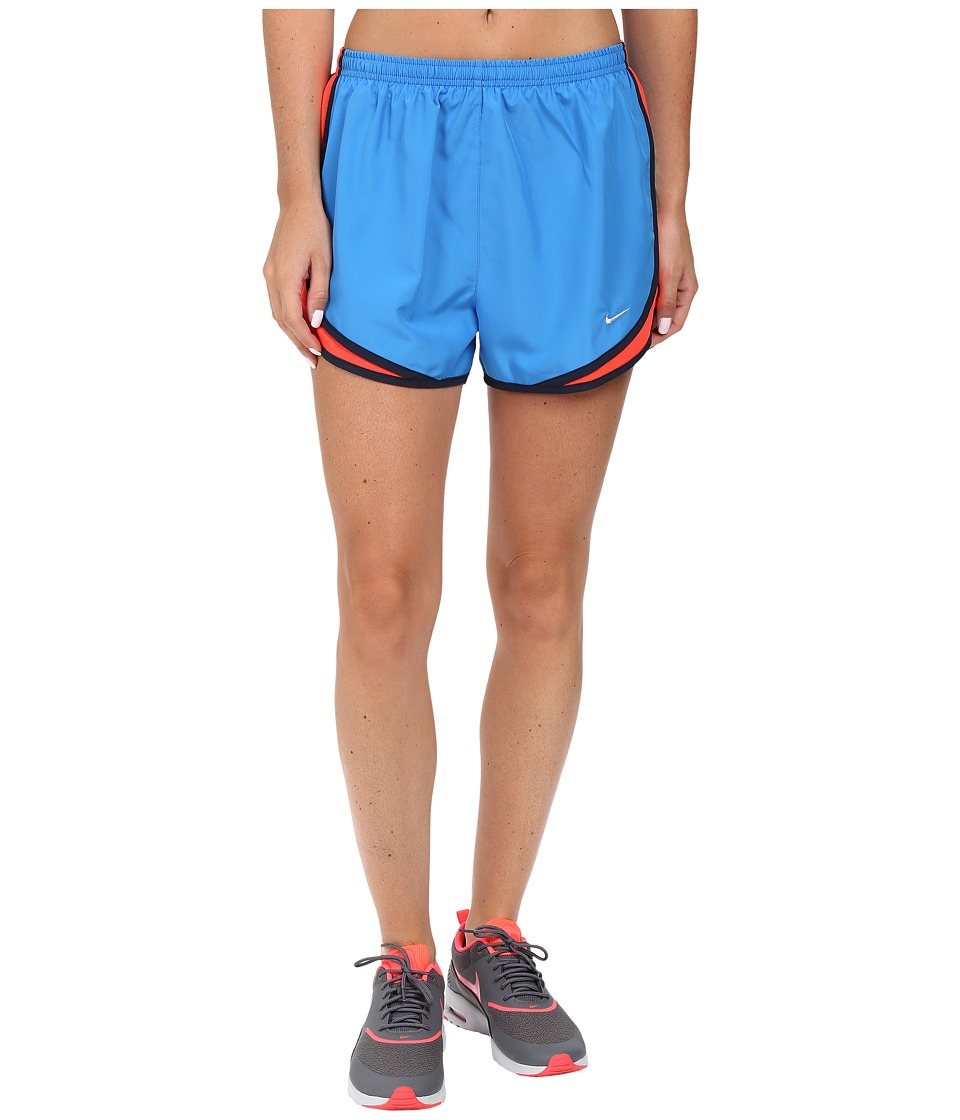 Nike - Tempo Short (Light Photo Blue/Bright Crimson/Wolf Grey) Women's Workout