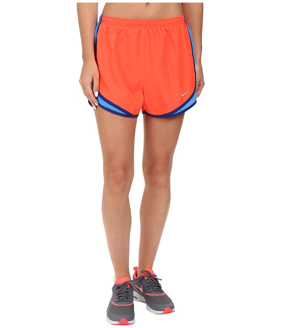Nike - Tempo Short (Bright Crimson/Light Photo Blue/Wolf Grey) Women's Workout