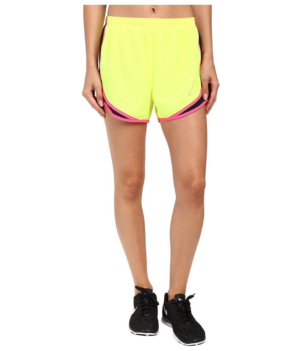 Nike Tempo Short (Volt/Black/Hyper Pink/Wolf Grey) Women