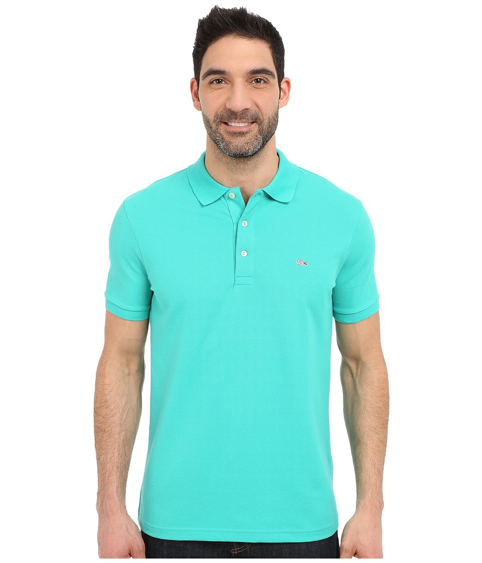 Lacoste - Stretch Petit Piqu Slim Fit Polo (Papeete) Men's Short Sleeve Pullover