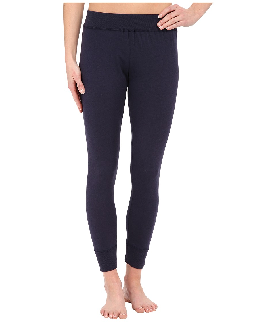 Lucky Brand - Lucky Layers Comfort Waist Leggings (Navy) Women's Pajama