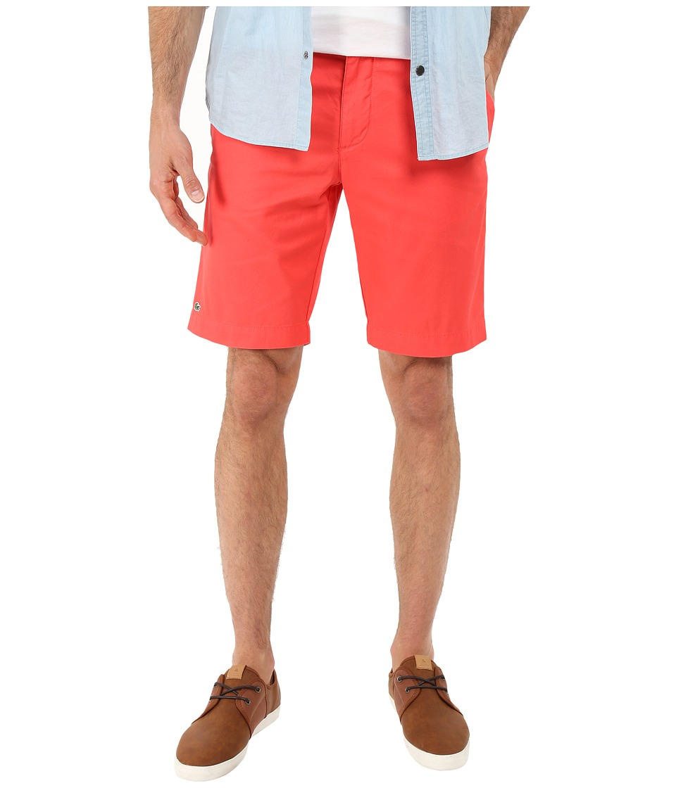 Lacoste - Slim Fit Bermuda Short (Sandalwood) Men's Shorts