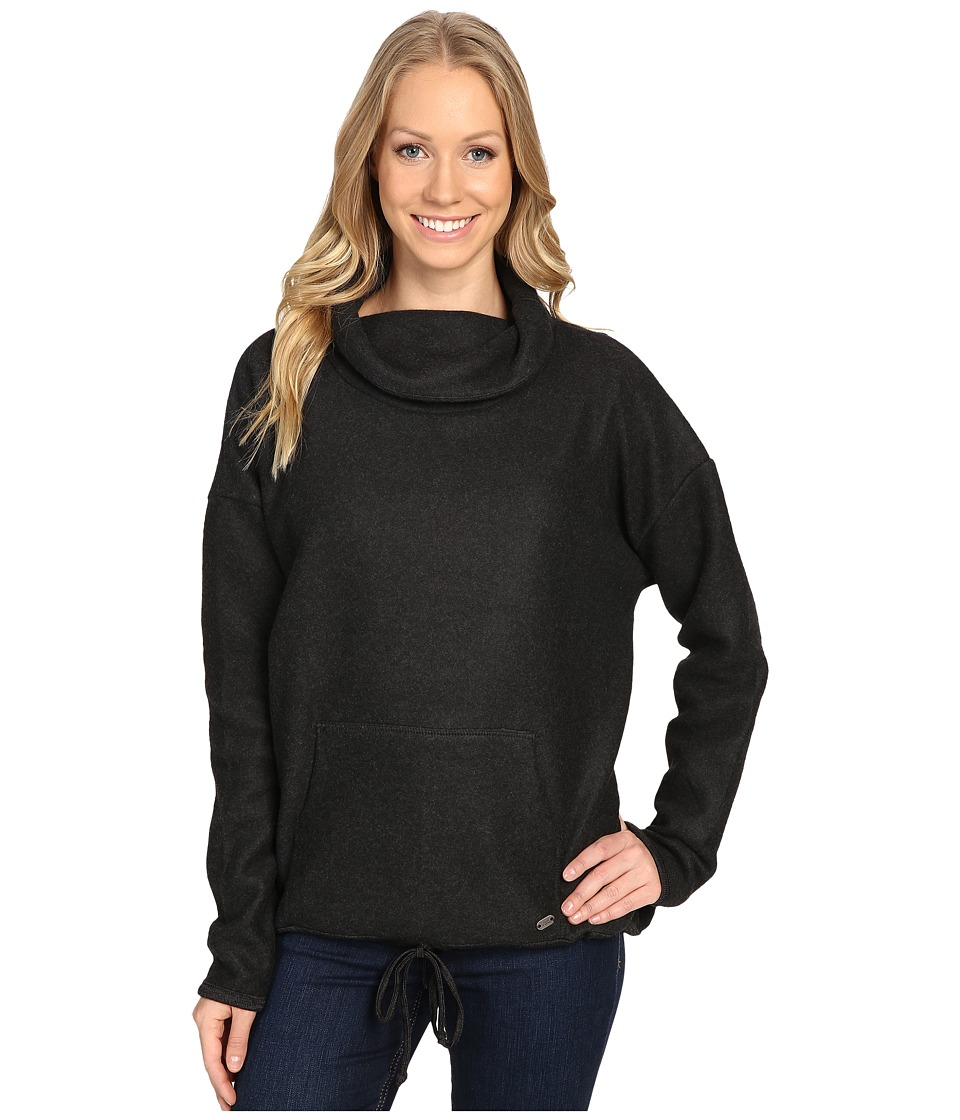Carve Designs - Rowayton Cowl Neck (Black) Women's Clothing