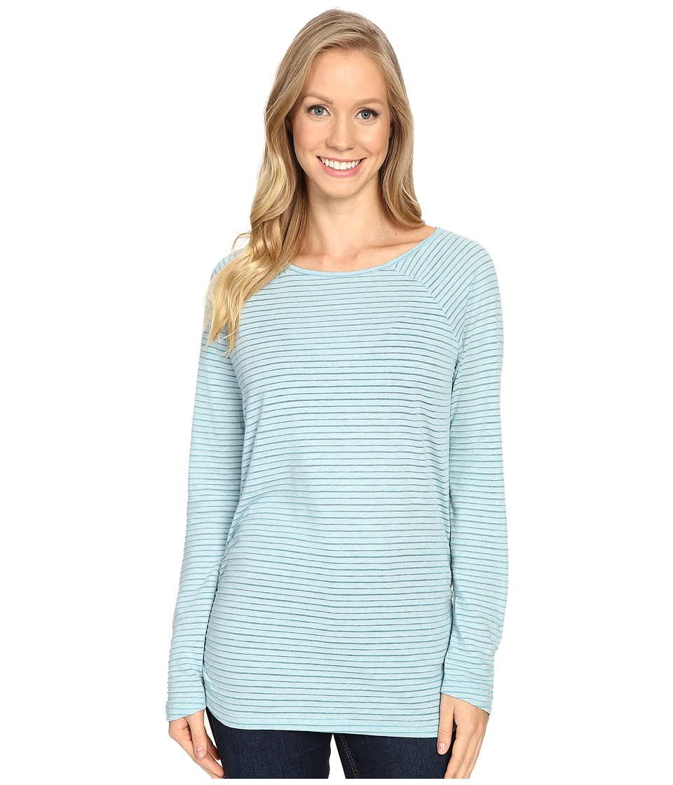 Carve Designs - Cannon Long Sleeve (Bluebird) Women's Clothing