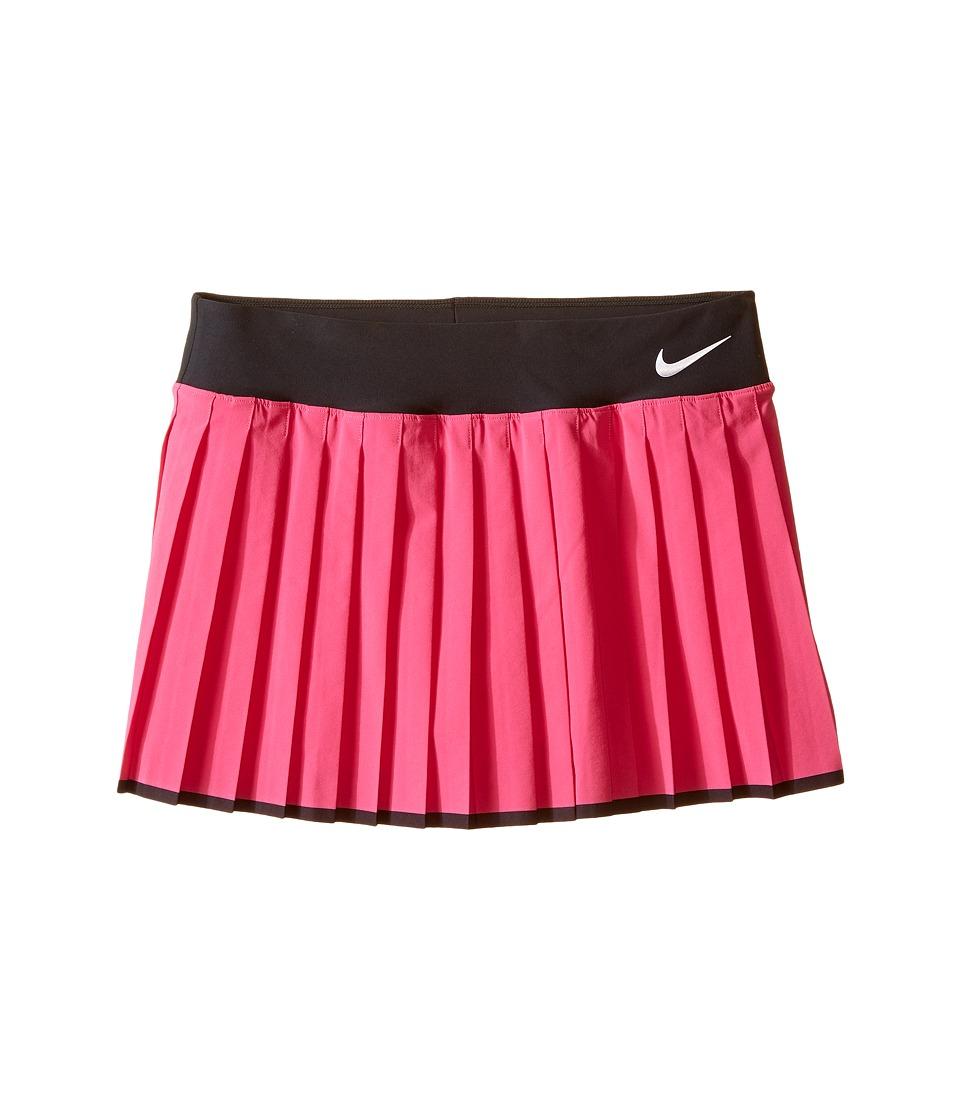 Nike Kids - Victory Skirt (Little Kids/Big Kids) (Vivid Pink/Black/White) Girl's Skirt