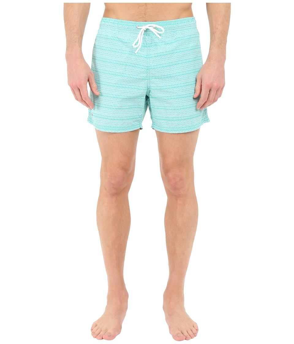 Lacoste - Logo Swim Short (Papeete/White) Men's Swimwear