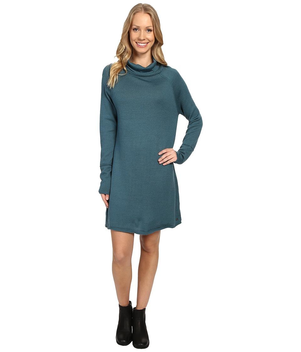 Carve Designs Carbondale Dress (Spruce) Women