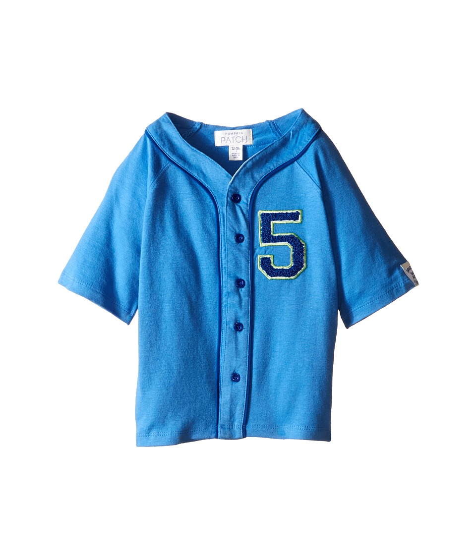 Pumpkin Patch Kids - Jungle Baseball Top (Infant) (Periwinkle) Boy's T Shirt