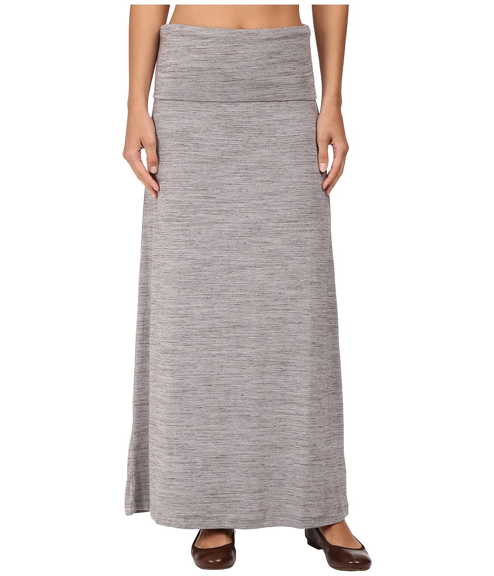 Carve Designs - Seabrook Maxi Skirt (Grey Space Dye) Women's Skirt
