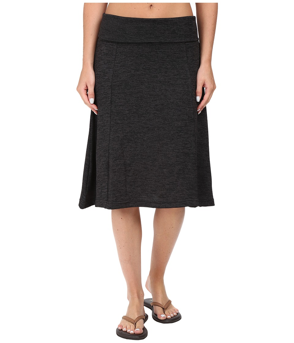 Carve Designs Saxon Skirt (Charcoal Heather) Women