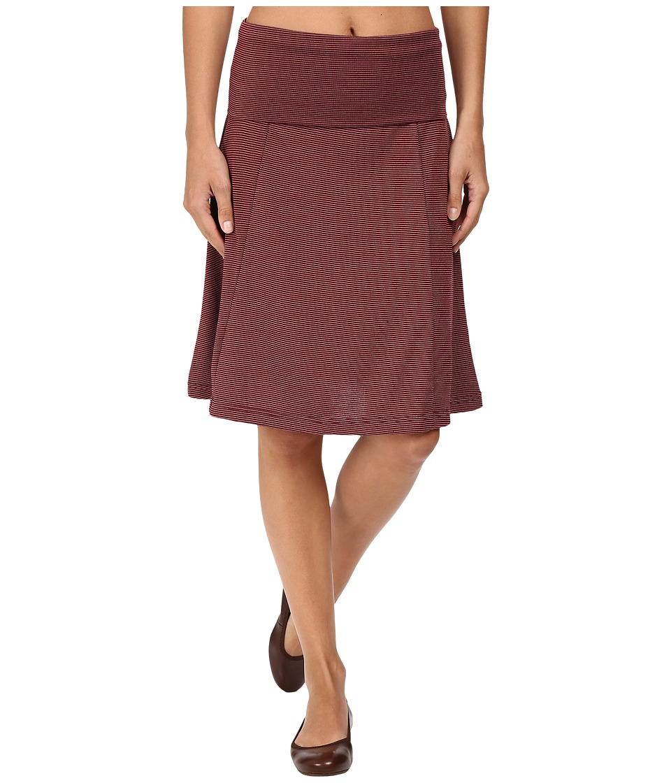 Carve Designs Saxon Skirt (Mulberry Southwest Stripe) Women