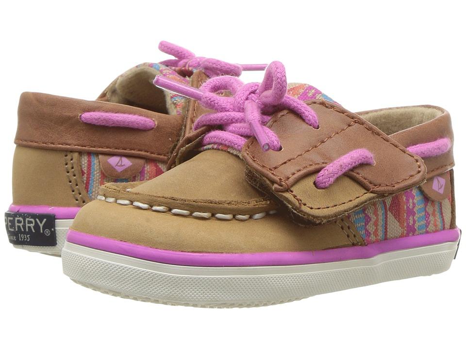 Sperry Kids - Bluefish Crib Jr (Infant/Toddler) (Linen/Aztec) Girl's Shoes