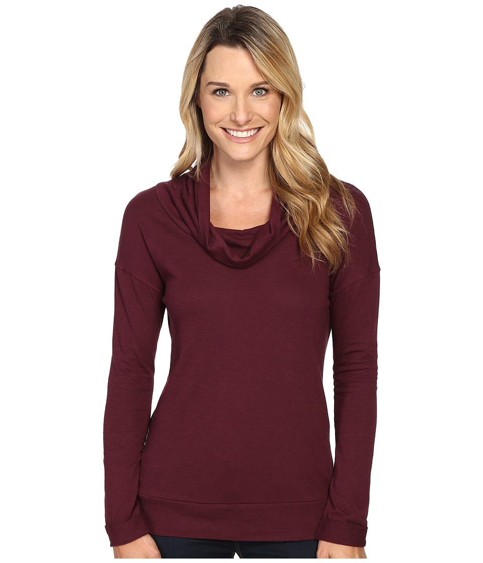 Carve Designs - Cortez Cowl Neck (Mulberry) Women's Clothing