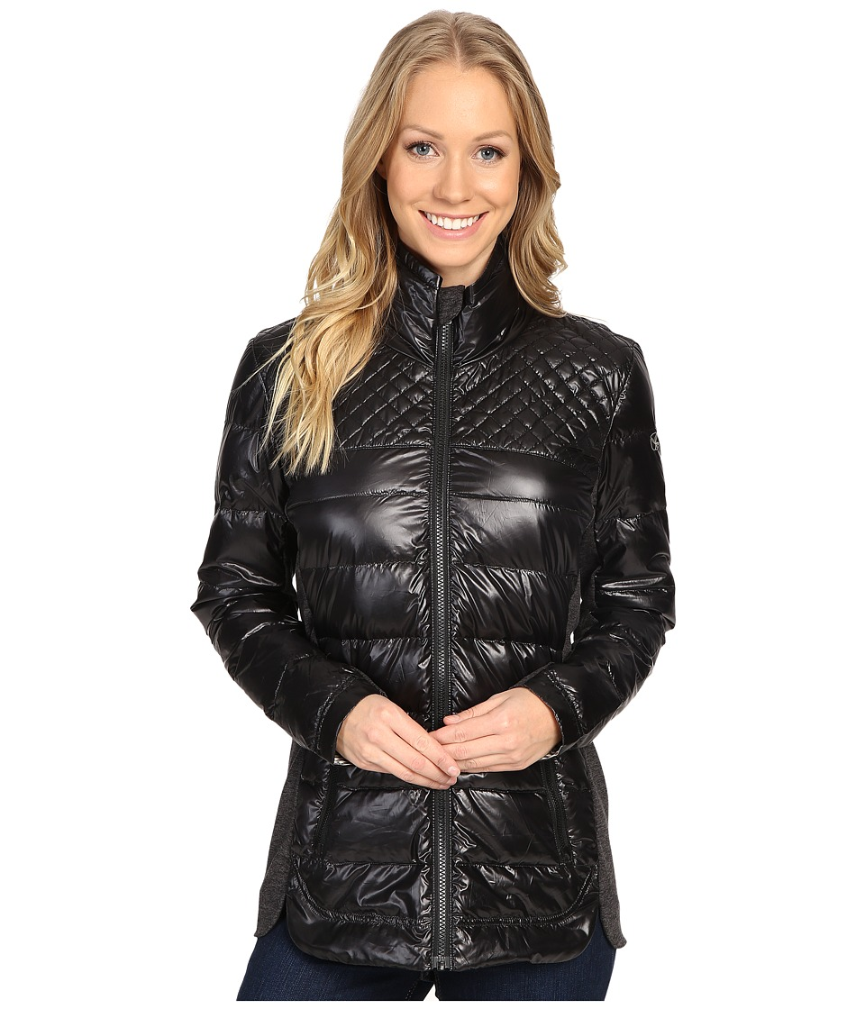 Carve Designs - Heavenly Jacket (Black) Women's Sweater