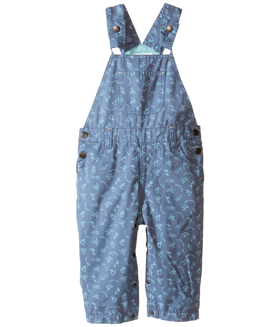 Pumpkin Patch Kids - Turtle Print Jeans (Infant) (Breakwater) Boy's Overalls One Piece