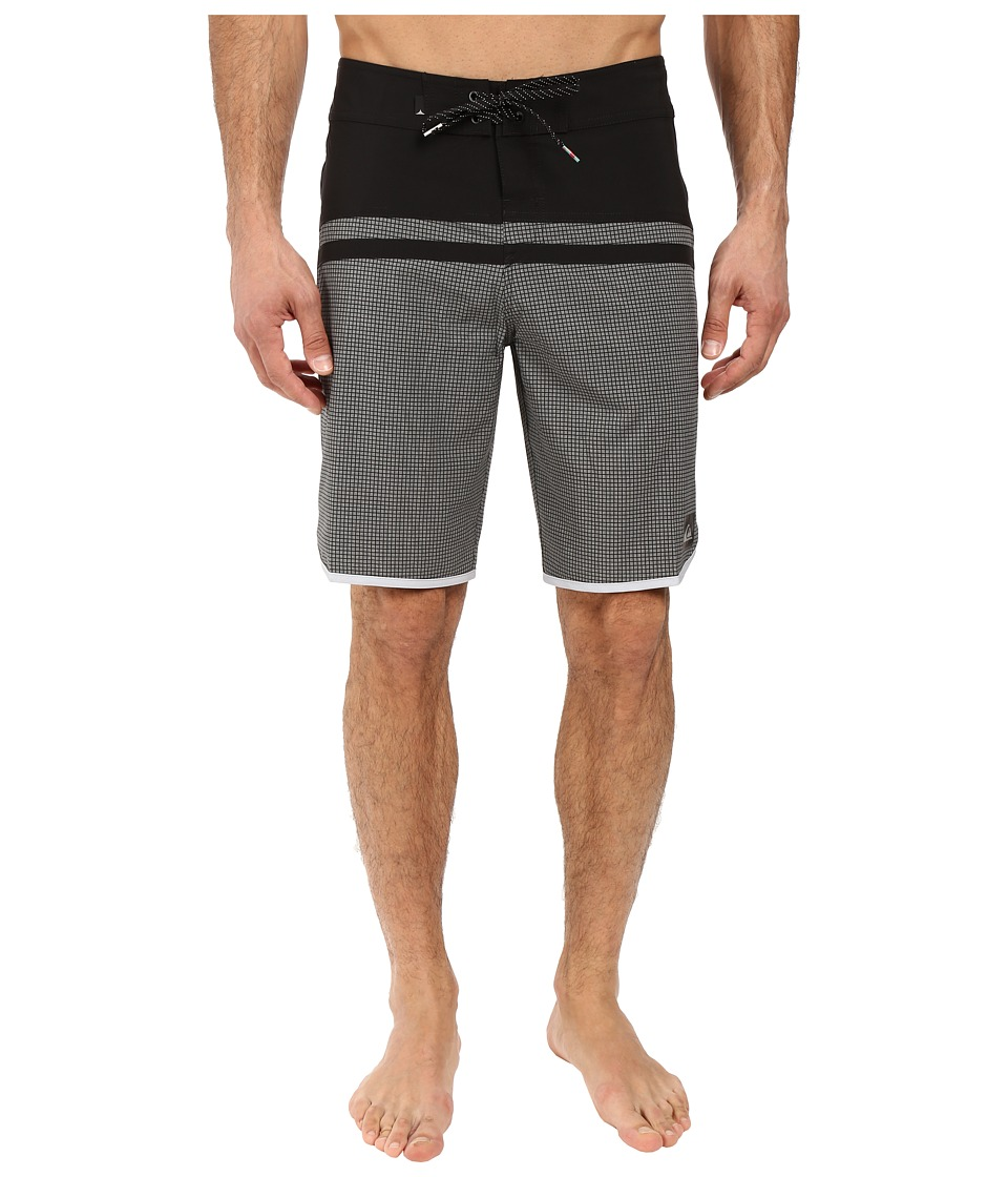 Quiksilver - Stomp Remix Scallop 20 Boardshorts (Quiet Shade) Men's Swimwear