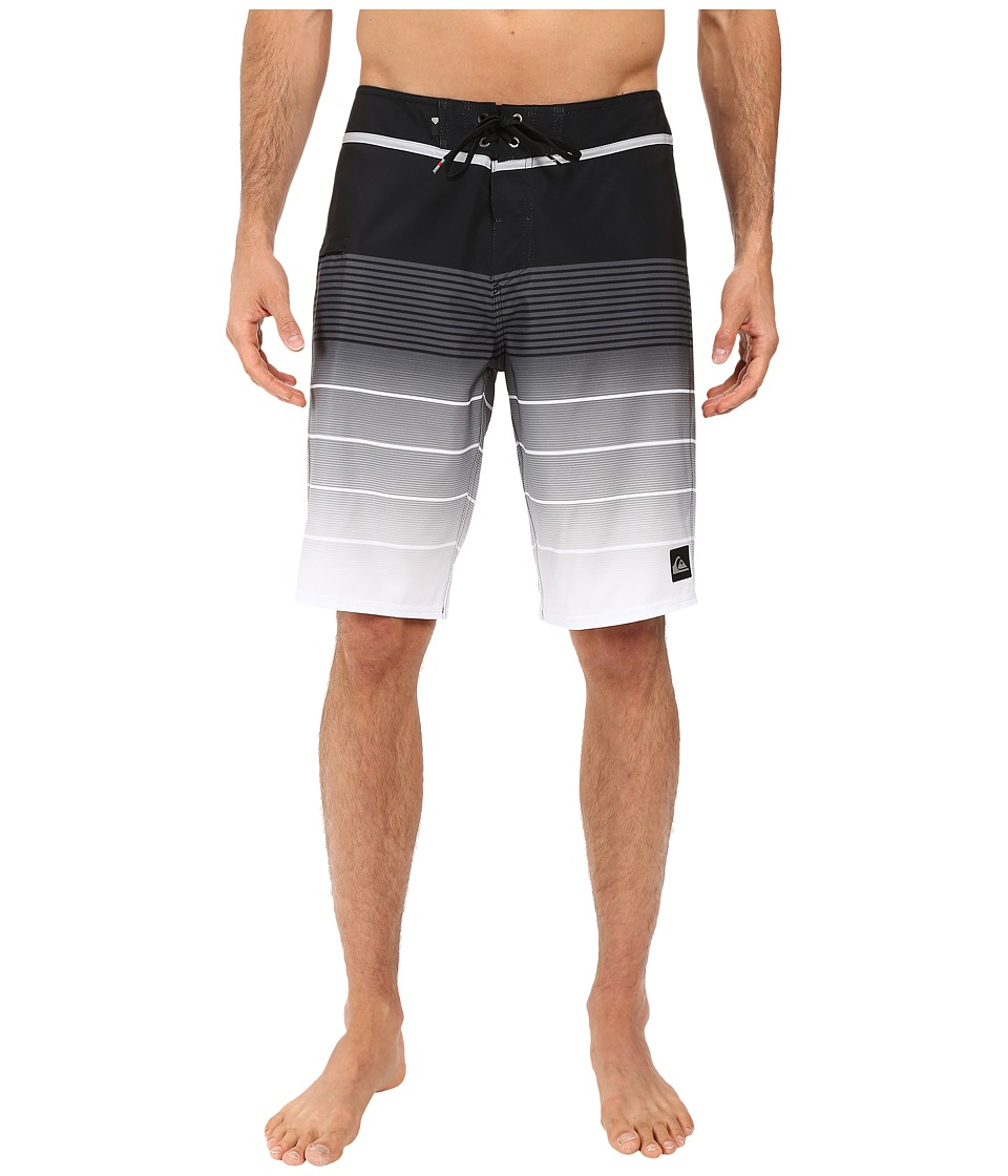 Quiksilver - Division Vee 21 Boardshorts (Black) Men's Swimwear