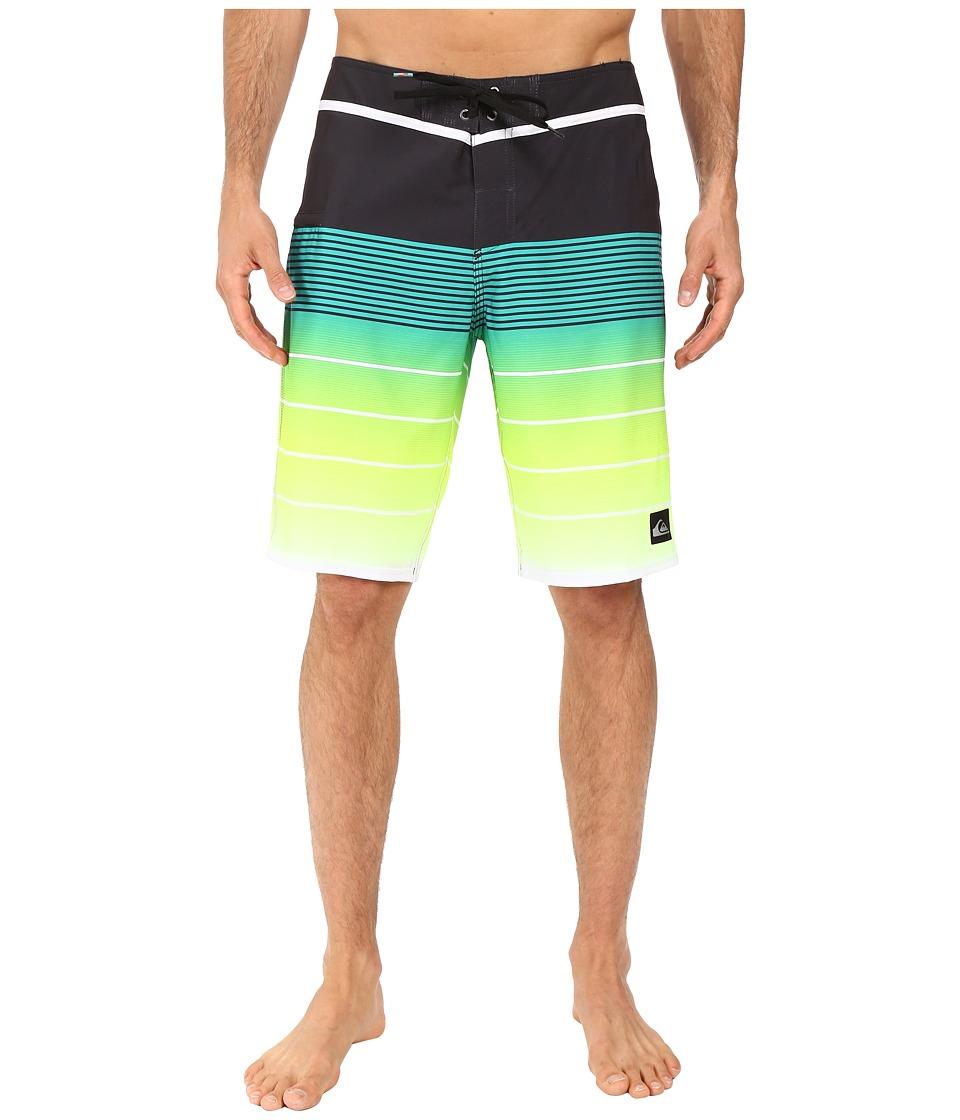 Quiksilver - Division Vee 21 Boardshorts (Tarmac) Men's Swimwear
