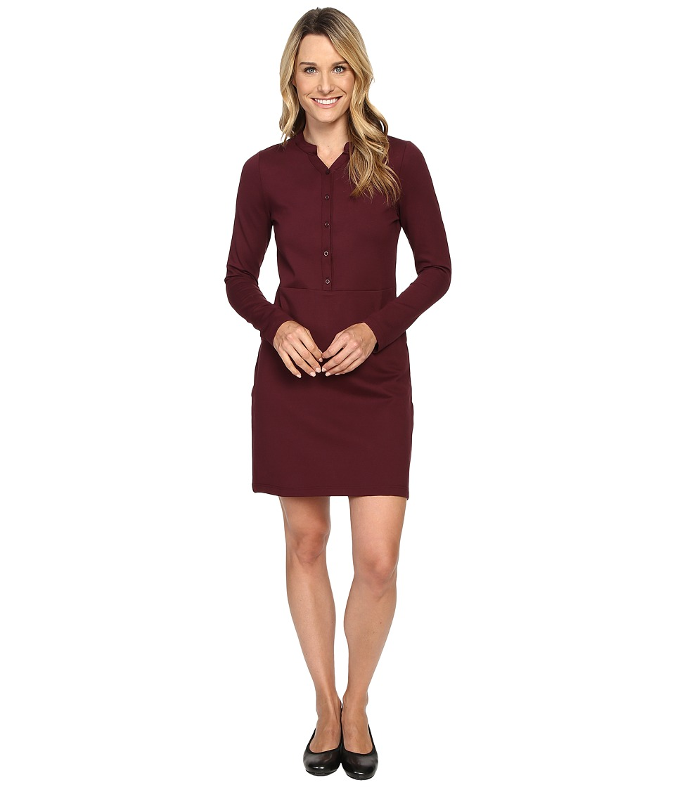 Carve Designs - Frisco Dress (Mulberry) Women's Dress
