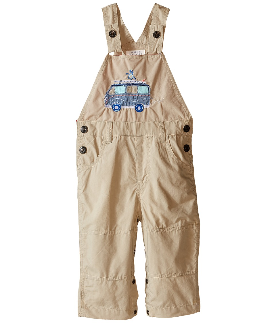 Pumpkin Patch Kids - Van Jeans (Infant) (Sand Storm) Boy's Overalls One Piece