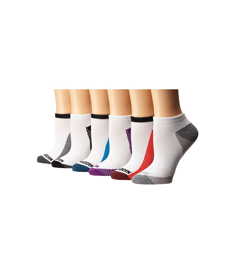 Steve Madden - 12-Pack Athletic Low Cut Sock (White/Heather Grey/Black) Women's Low Cut Socks Shoes