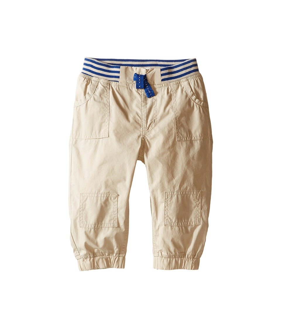 Pumpkin Patch Kids - Woven Relaxed Pants (Infant) (Sand Storm) Boy's Casual Pants