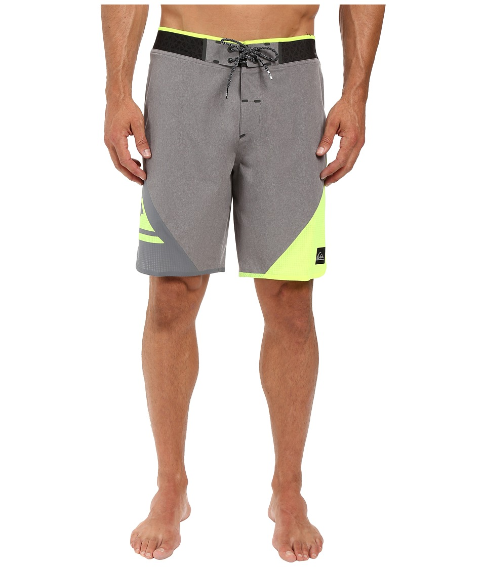 Quiksilver - New Wave High 19 Boardshorts (Quiet Shade) Men's Swimwear