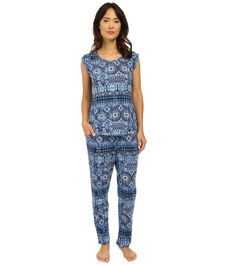 Lucky Brand - Knit Tee Jay (Persian Holiday) Women's Pajama