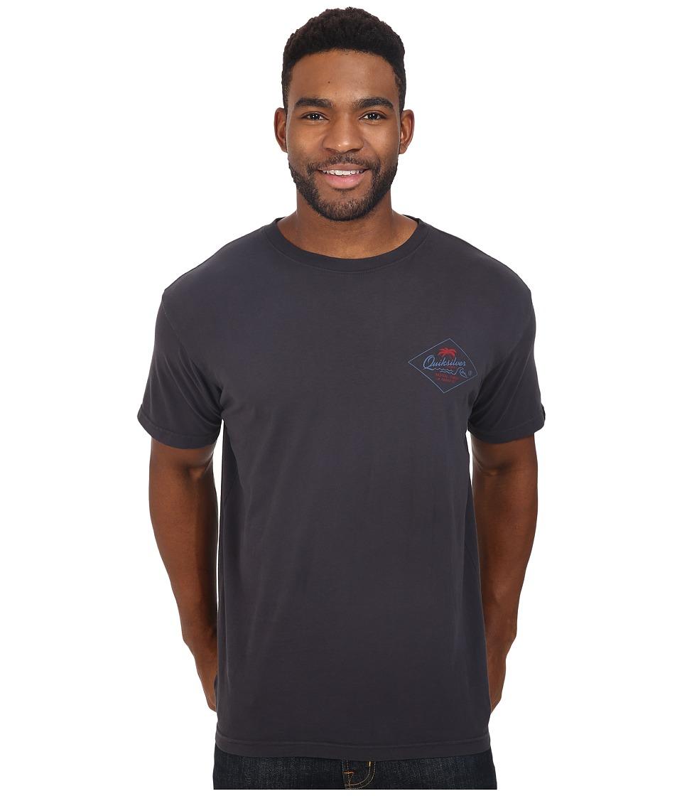 Quiksilver - Volcano Premium Tee (Tarmac) Men's T Shirt