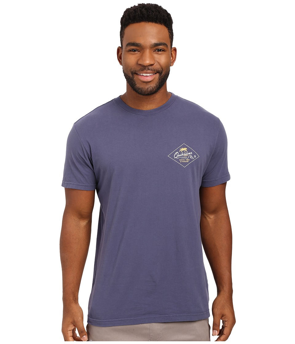 Quiksilver - Volcano Premium Tee (Night Shadow Blue) Men's T Shirt