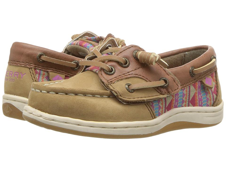 Sperry Kids - Songfish Jr. (Toddler/Little Kid) (Linen/Aztec) Girl's Shoes