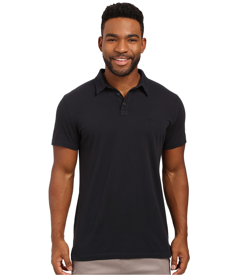 Quiksilver - Everyday Sun Cruise Polo (Anthracite) Men's Clothing
