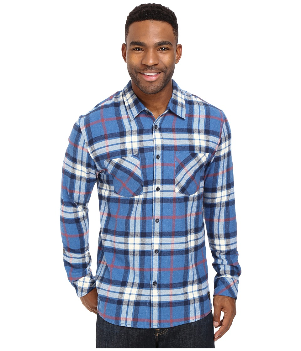 Quiksilver - Fitzthrower Flannel (Star Sapphire) Men's Clothing