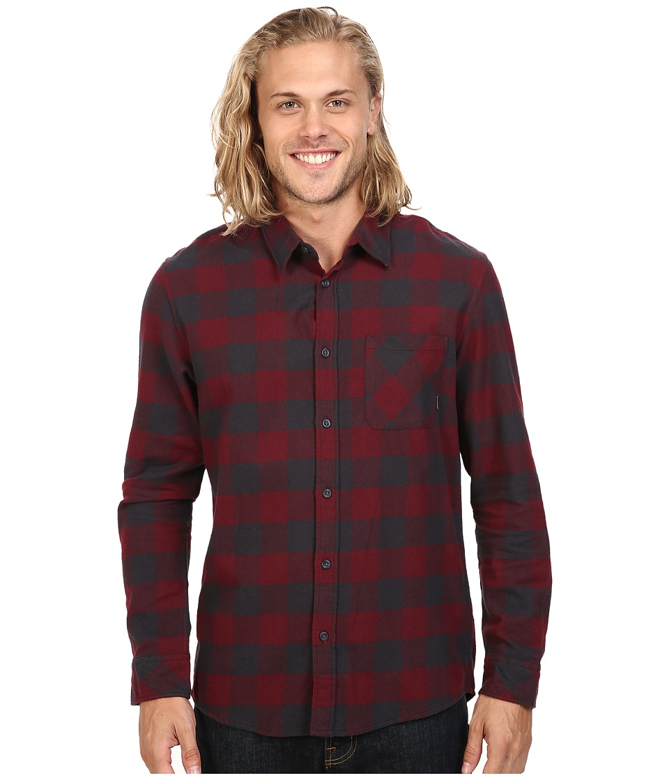 Quiksilver - Motherfly Flannel (Tarmac) Men's Clothing
