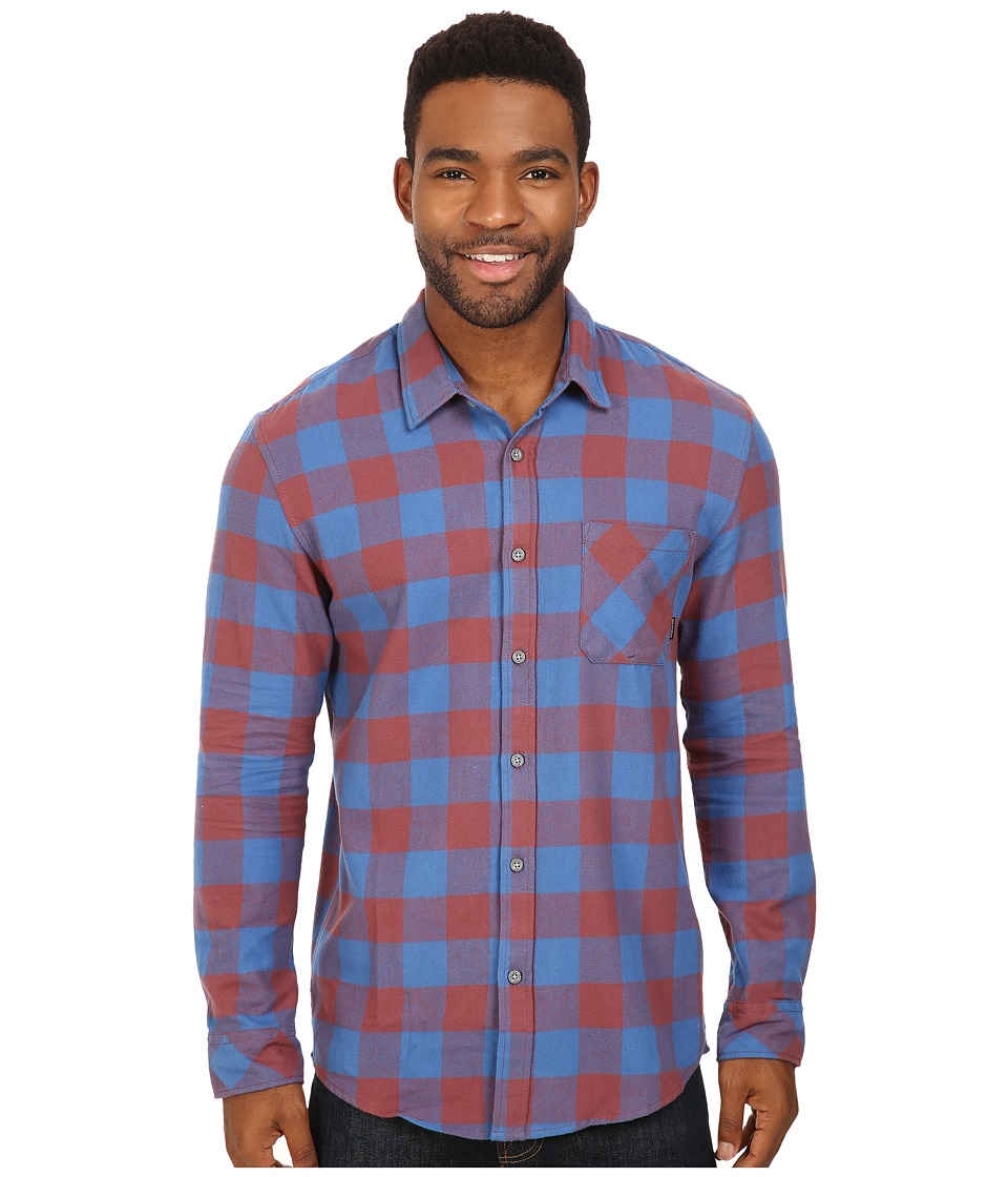 Quiksilver - Motherfly Flannel (Wild Ginger) Men's Clothing